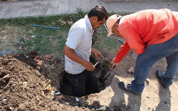 Detectaron 20 tomas clandestinas de agua en Cuernavaca
