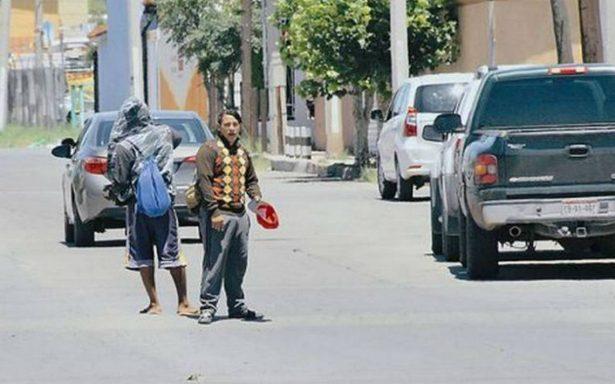Mexicanos fingen ser migrantes centroamericanos para pedir dinero en calles de Puebla