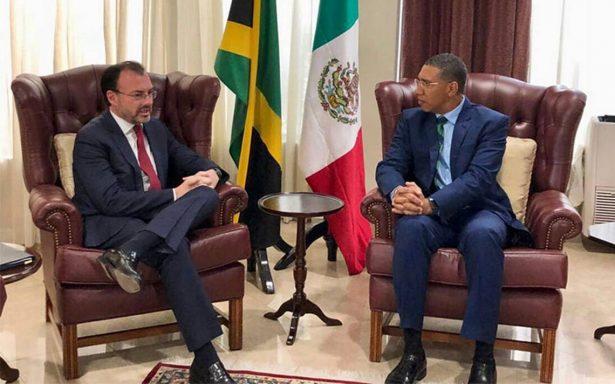 Luis Videgaray se reúne con el Primer Ministro de Jamaica