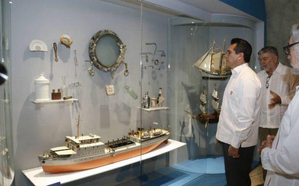 Inauguran en Campeche el primer Museo de Arqueología Subacúatica de América