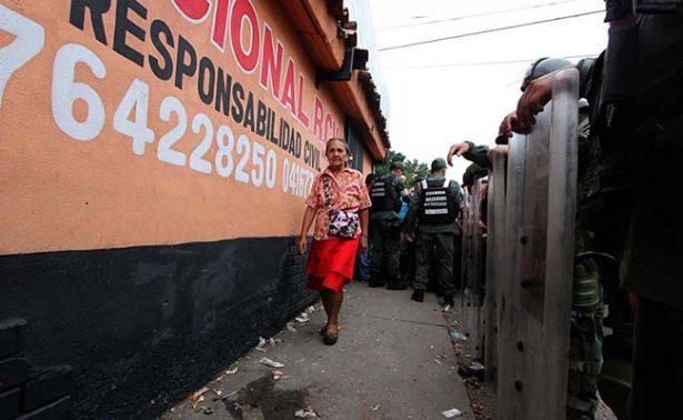 Militarizan ciudades en Venezuela para evitar saqueos y disturbios