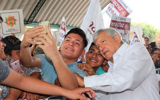 """AMLO invita a los """"rebeldes"""" del Partido Verde en Chiapas"""