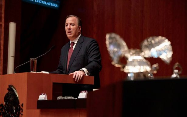 Hay arquitectura fiscal para reconstrucción tras sismos: Meade comparece ante el Senado
