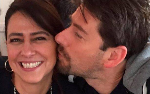 Con tiernas imágenes, se despide Eduardo Videgaray de su esposa Mónica Abín