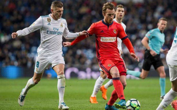 Real Madrid golea a la Real Sociedad y toma impulso previo a la Champions