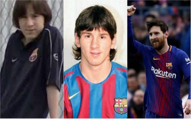 Hace 17 años, Messi vistió por primera vez los colores del Barça