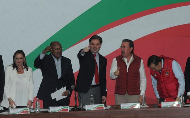 Con batucada y porras, PRI se declara listo para ganar elecciones
