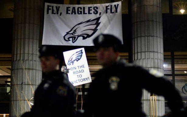 Violentos festejos en Filadelfia por victoria en el Super Bowl
