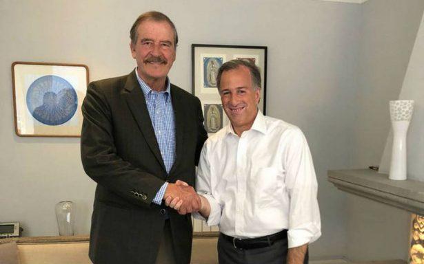 Meade se reúne con el expresidente Vicente Fox