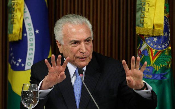 Michel Temer será investigado nuevamente por corrupción en Brasil