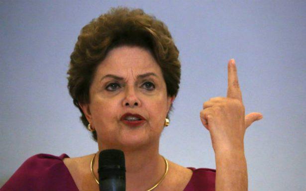 """Desde España, Dilma Rousseff pide """"solidaridad internacional"""" con Lula"""