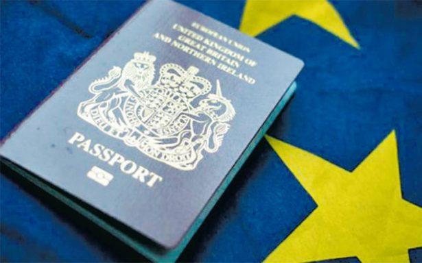 Francia fabricará pasaporte británico