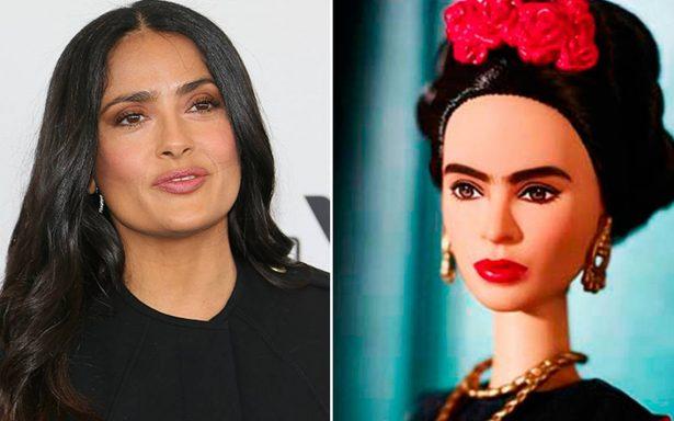 Salma Hayek indignada por Barbie de Frida Kahlo