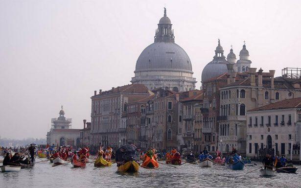 Canales secos en Venecia, ¿un inusual paseo romántico?
