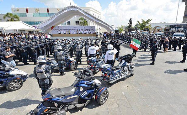 Refuerza Policía Federal seguridad en Tabasco