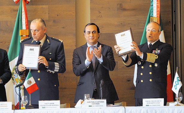 Exige CCE dotar a Fuerzas Armadas de marco jurídico