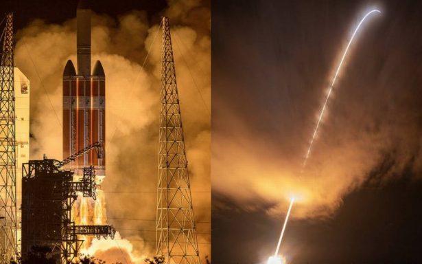"""NASA lanza con éxito la sonda Parker con el objetivo de """"tocar"""" el Sol"""