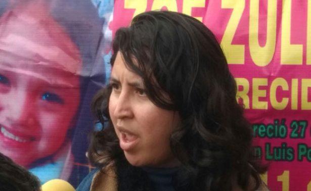 Protestan tras desaparición de menor en San Luis Potosí