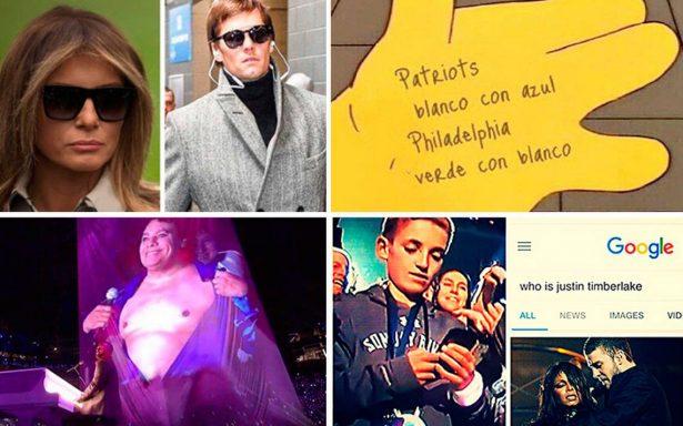 Brady y Timberlake los protagonistas de los memes del Super Bowl LII