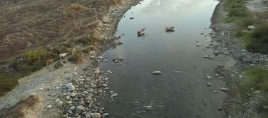 Se seca el  río Huixtla