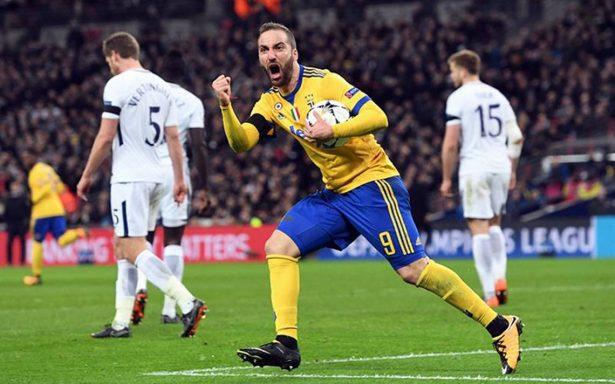 Juventus da lección de grandeza y elimina de Champions al Tottenham