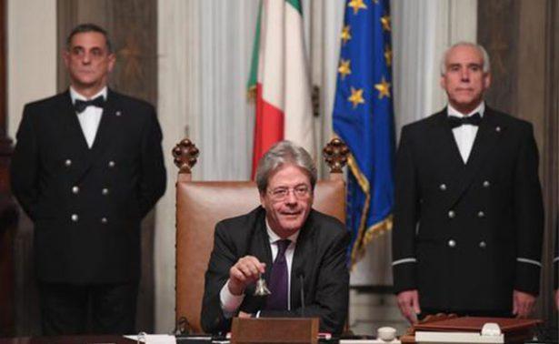 Paolo Gentiloni toma protesta como nuevo primer ministro de Italia