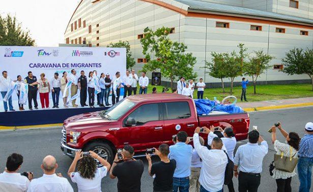 """Llegan primeros paisanos con la """"Caravana del Migrante, Verano 2017"""""""