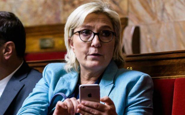 Líder ultraderechista francesa Marine Le Pen, imputada por publicar fotos del Estado Islámico
