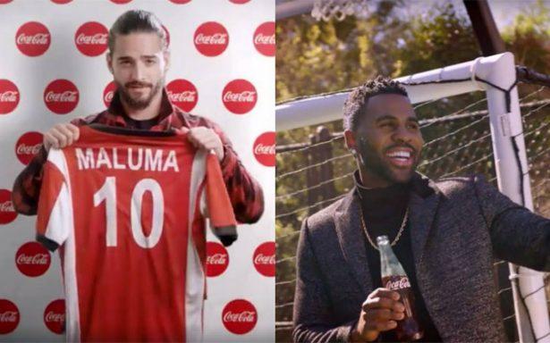 Jason Derulo se une a Maluma para cantar el tema de Coca Cola para el mundial