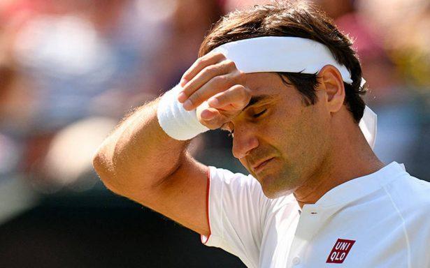 ¡Cae el rey! Federer, eliminado en cuartos de final de Wimbledon