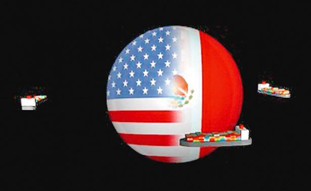 México y EU comerciaron 1.4 mdd al día en 2016