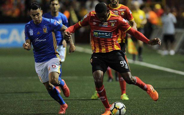 Tigres dejó ir la victoria ante el Herediano en la Concachampions