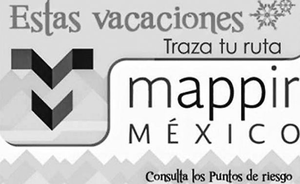 Mappir, opción para vacacionistas que viajan por carretera: SCT