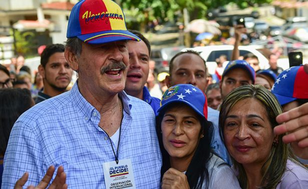 Consulta venezolana me recuerda a votación que desalojó al PRI: Fox