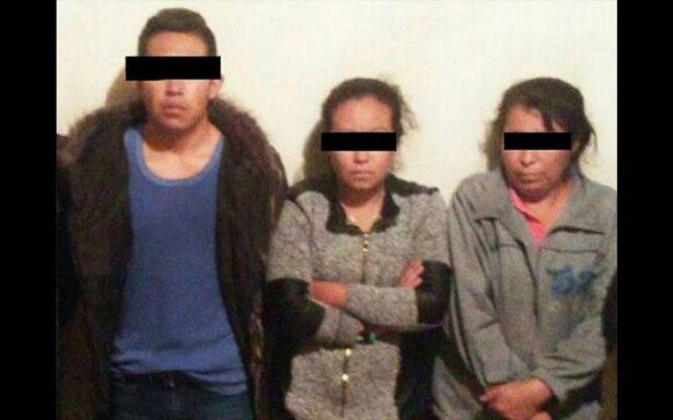 Detienen en SLP a pareja y familiares de 'El Tequilero'