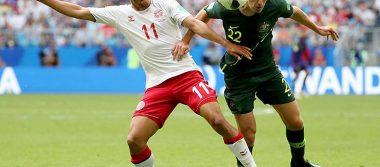 Partidazo sin ganador: Dinamarca y Australia empatan 1-1
