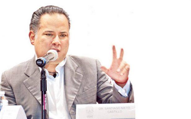 Santiago Nieto pide reformar el Sistema Nacional Anticorrupción