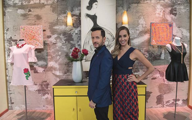 Olivia Peralta y Óscar Madrazo estrenan el programa ¡No te lo pongas!