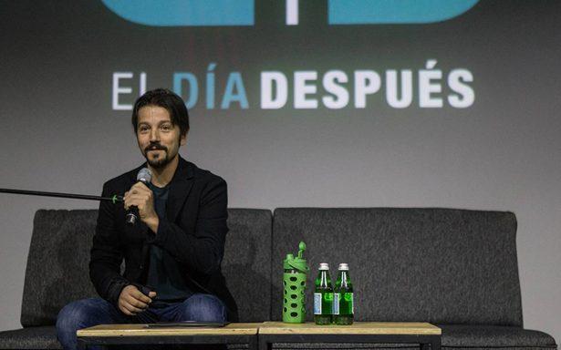 Diego Luna llama a los mexicanos a mantenerse unidos después de las elecciones