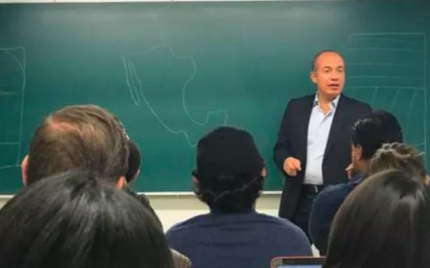 Las clases que impartió Felipe Calderón en el ITAM contadas con memes