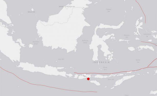 Sismo de 6.2 grados Richter sacude el este de Indonesia