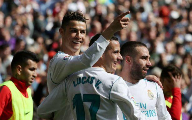 Cristiano Ronaldo marca el gol 500 de los derbis en Liga