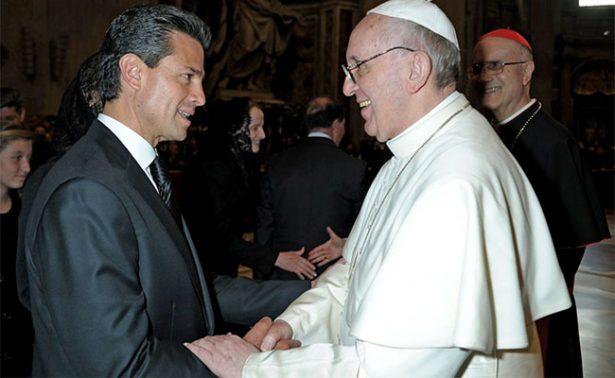 Peña Nieto felicita al Papa Francisco por su cumpleaños