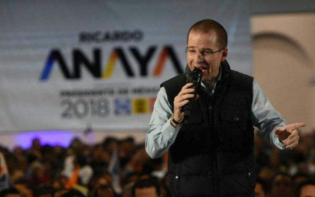 Con el PRI hay pura robadera, dice Ricardo Anaya