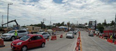 SCT abre cuarto carril del Paso Express de Cuernavaca, pero continúa tráfico
