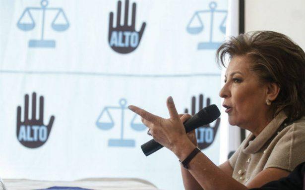 Secuestros aumentaron 15% en el país: Isabel Miranda