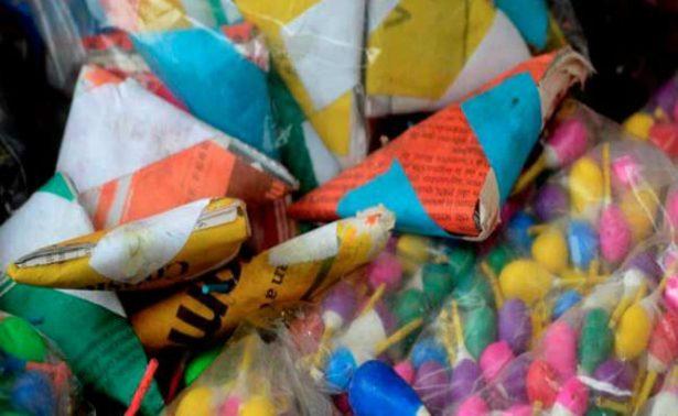 Explosión de pirotecnia deja tres heridos en Tochtepec