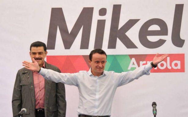 Mikel Arriola oficializa su candidatura a la jefatura de la CDMX