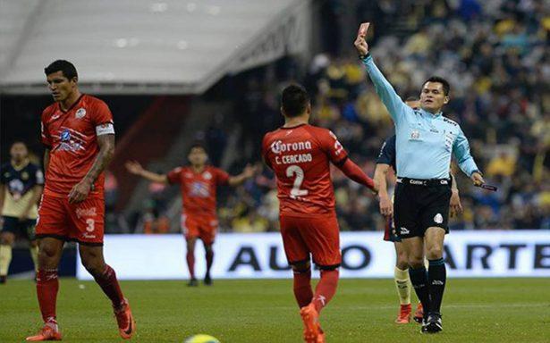 Maza Rodríguez expulsado dos partidos tras falta sobre Oribe