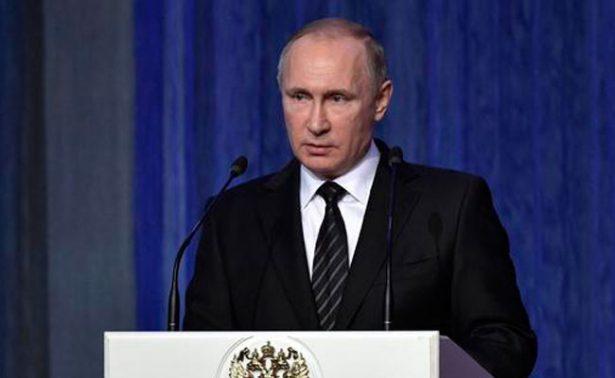 Triada nuclear, Alepo y dopaje, temas en rueda de prensa anual de Putin